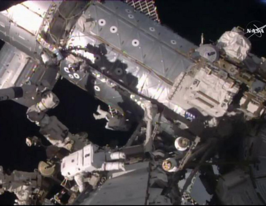 Expedition 46 spacewalk