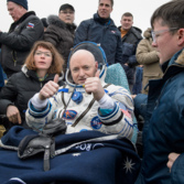 Scott Kelly after a year in space