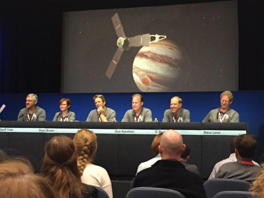 Juno post-orbital insertion media briefing
