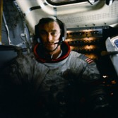 Gene Cernan after moonwalk