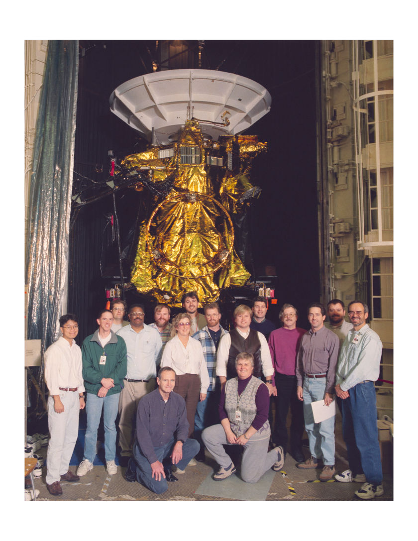 Cassini and its ATLO team