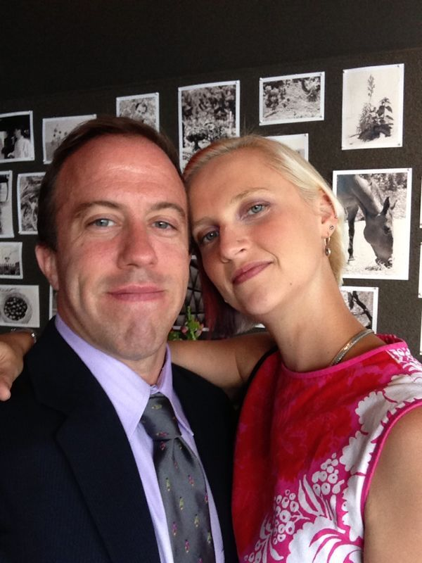 Jason Rhodes and Alina Kiessling