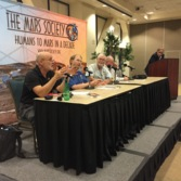 Mars Society Convention panel