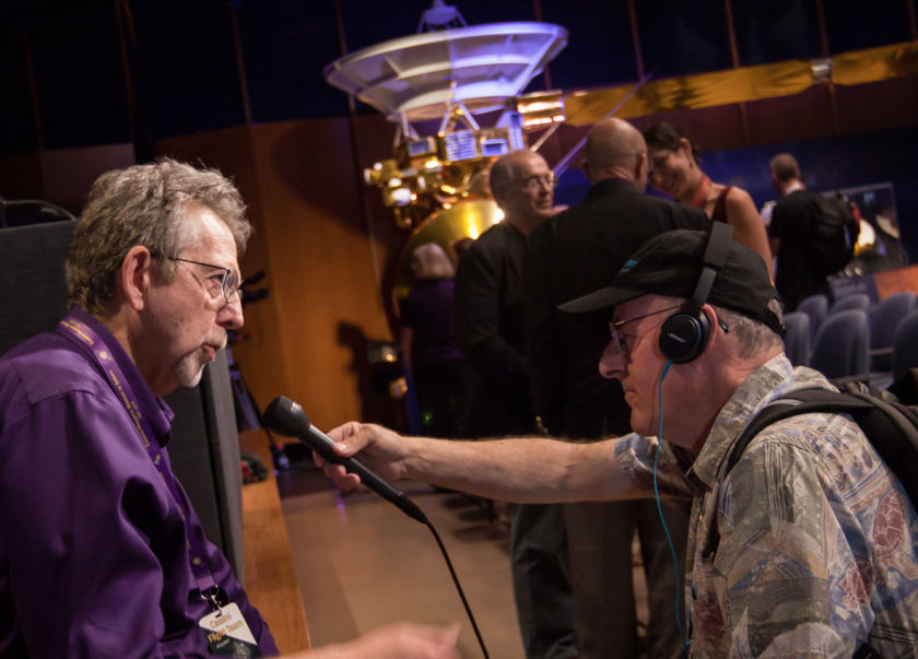Jim Green and Mat Kaplan