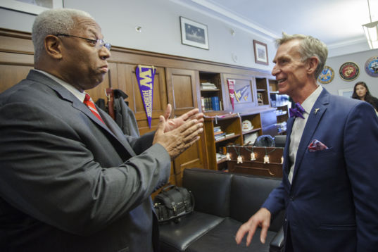 Rep. McEachin (D-VA) and Bill Nye