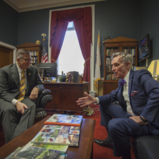 Rep. Randy Hultgren (R-IL) and Bill Nye