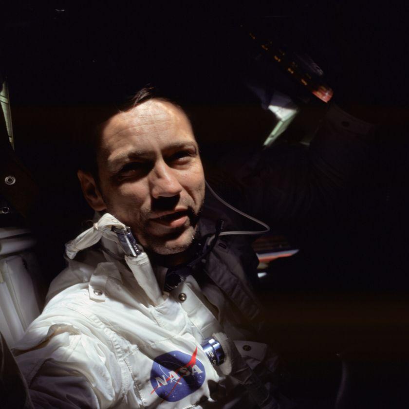 Donn Eisele during Apollo 7