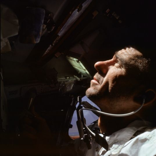 Walter Cunningham during Apollo 7