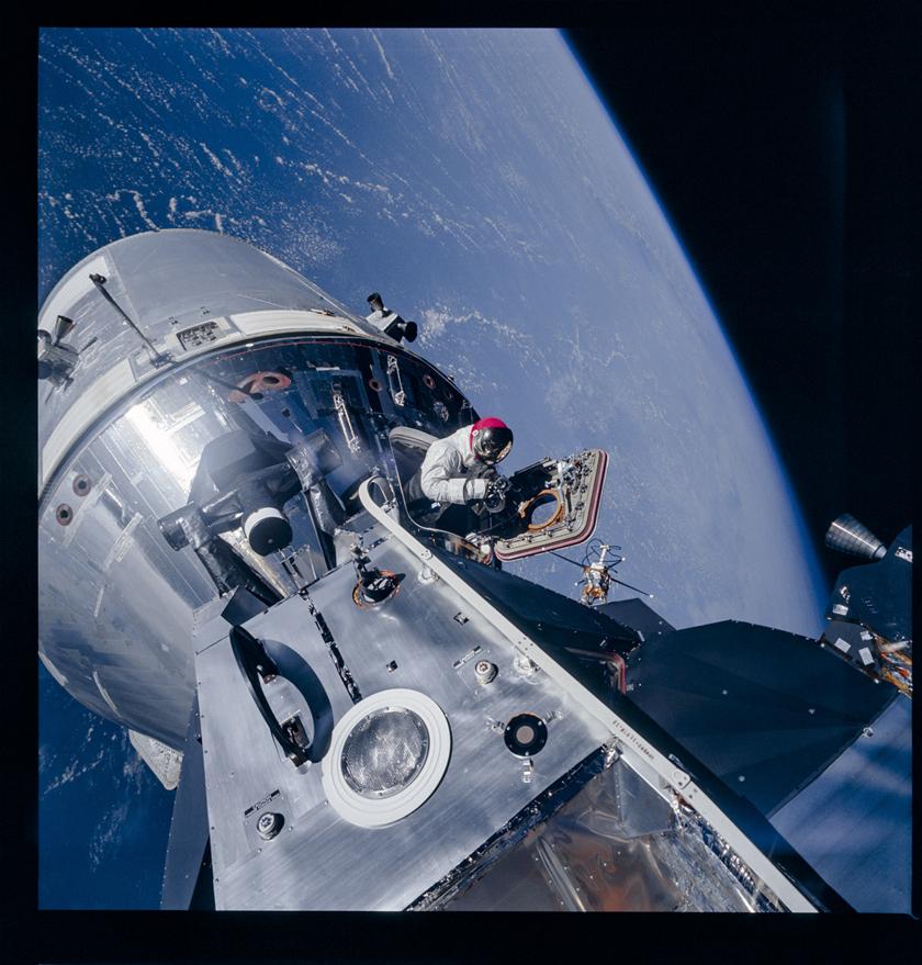 Apollo 9 EVA photograph