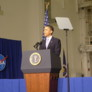 President Barack Obama at the Space Conference