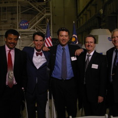 Planetary Society Board Members at 2010 Space Conference