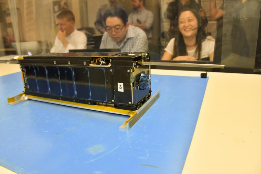 LightSail 2 after antenna deployment