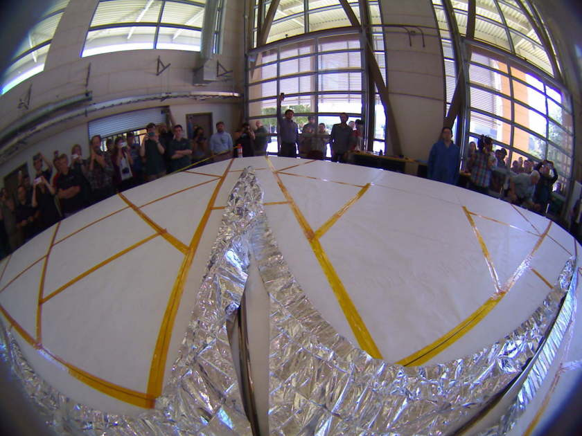 LightSail 2 sail deployment test from +X camera