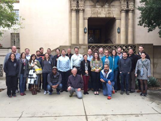 Mastcam-Z team members at the February 2017 team meeting