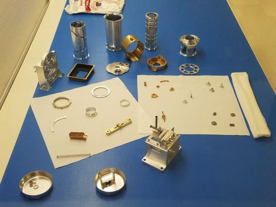 Mastcam-Z parts