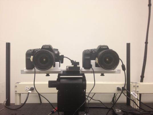 Mastcam-Z stereo testbed
