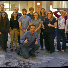Mastcam-Z stereo testbed team picture mosaic