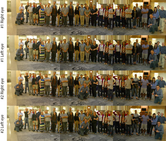 Mastcam-Z stereo testbed team picture