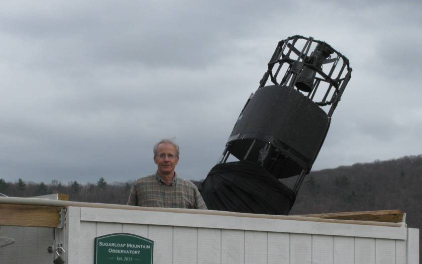 Sugarloaf Mountain Observatory, South Deerfield, Massachusetts, USA