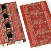 AdvCam Electronics Boards from the OSETI Telescope