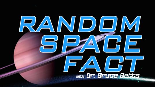 Random Space Fact