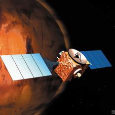 Mars Express Art