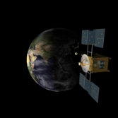 Hayabusa approaches Earth