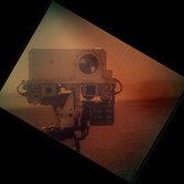 Curiosity self-portrait, sol 32