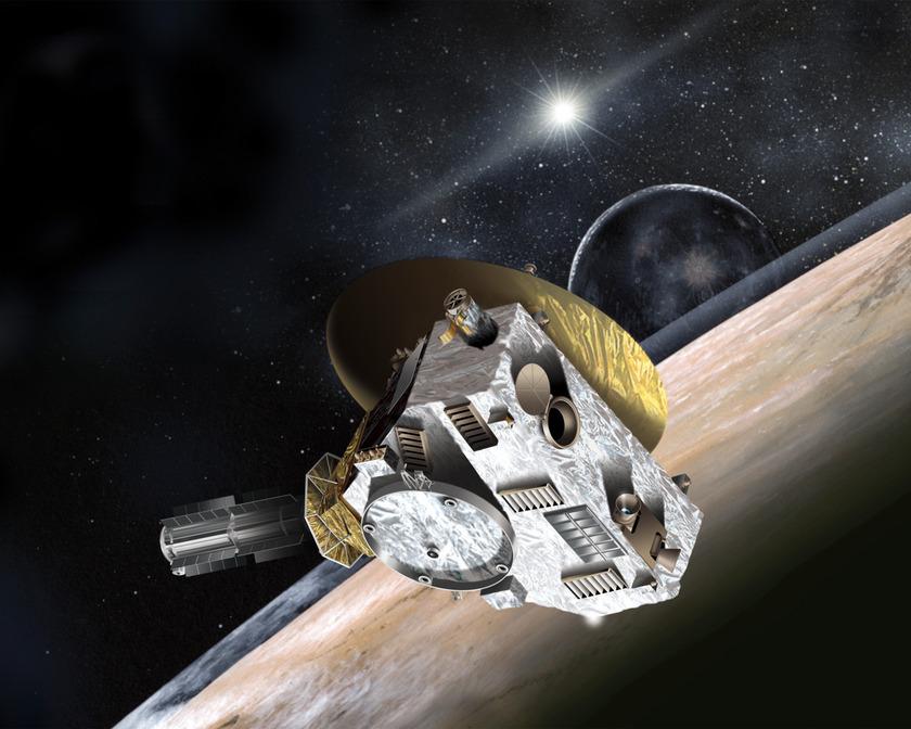 New Horizons at Pluto, July 2015
