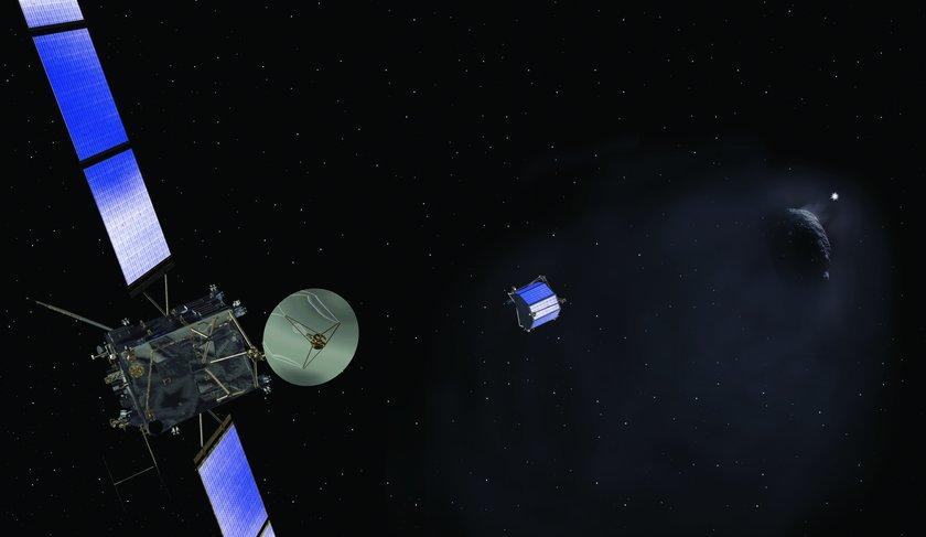 Rosetta releases Philae