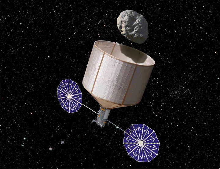 Conceptual design for an asteroid capture and retrieval spacecraft