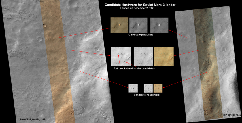 Could This Be the Soviet Mars 3 Lander?