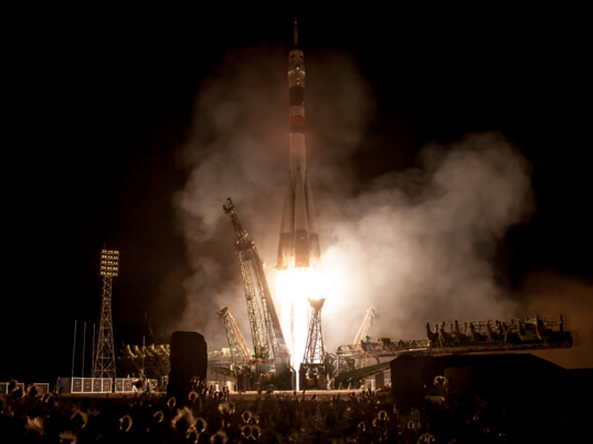 Liftoff of Soyuz TMA-09M