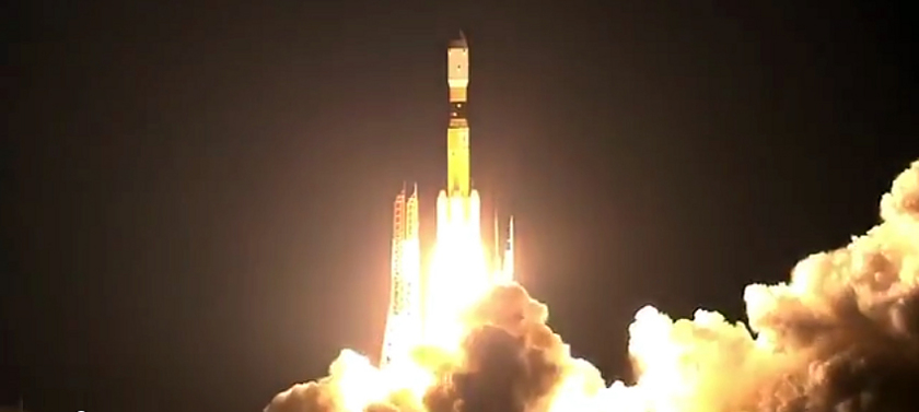 Liftoff of HTV-4