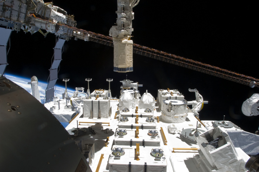 Japanese Experiment Module - Exposed Facility (JEF-EF)