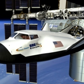 Dream Chaser docked at International Space Station