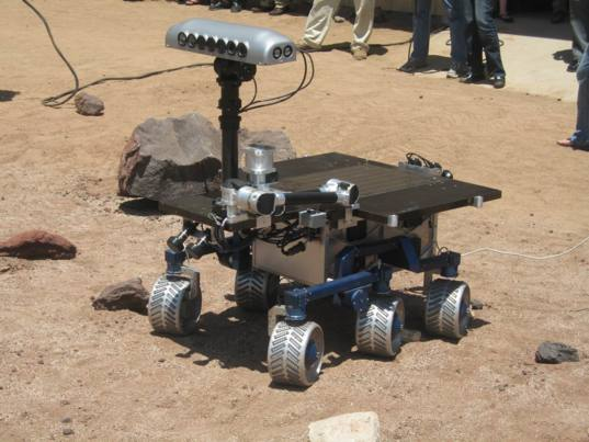The Pluto rover