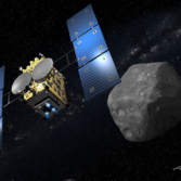 Hayabusa-2 at Asteroid