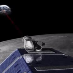Lunar Laser Communication Demonstration in action