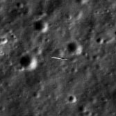 LADEE spotted by Lunar Reconnaissance Orbiter