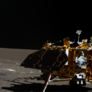 Yutu image of the Chang'e 3 lander from the mission's third solar day