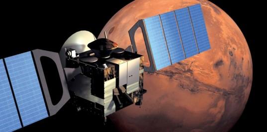 Mars Express in orbit around Mars