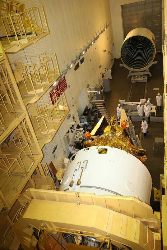 Phobos-Grunt and Yinghuo-1 fairing encapsulation