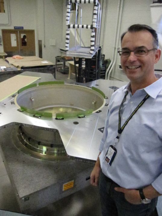 OSIRIS-REx boat tail assembly