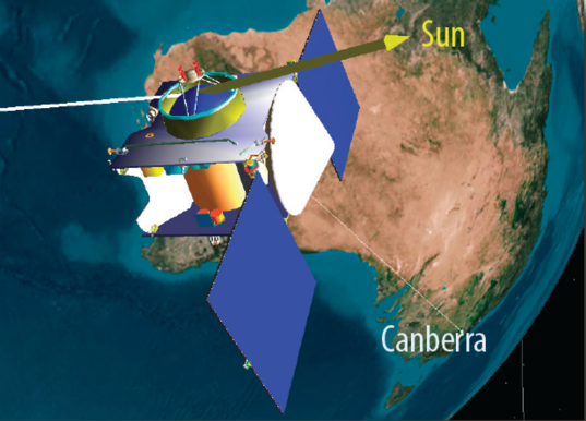 OSIRIS-REx makes contact with the Deep Space Network