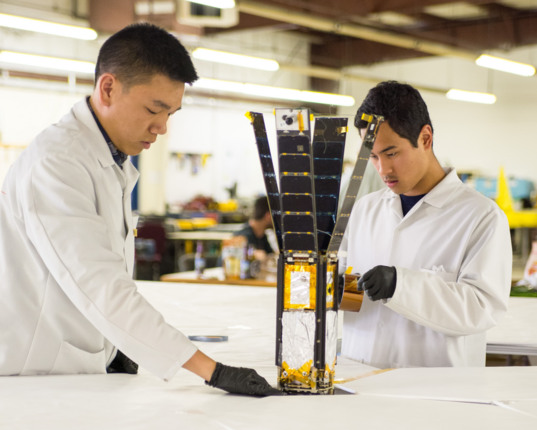 LightSail on deployment table