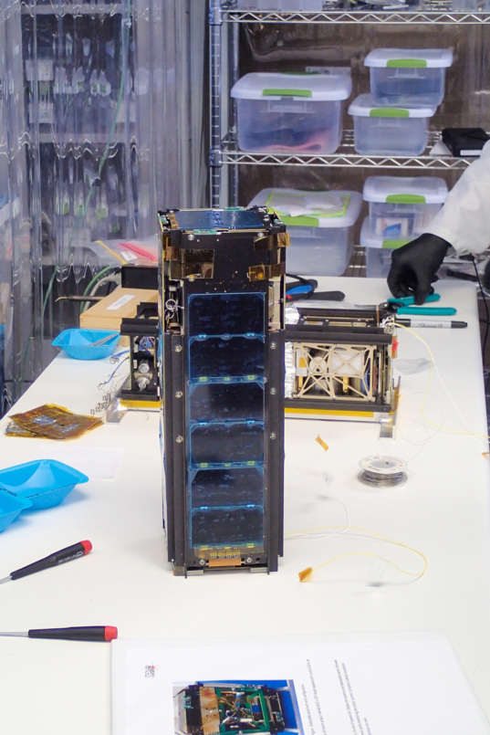 LightSail with solar arrays stowed