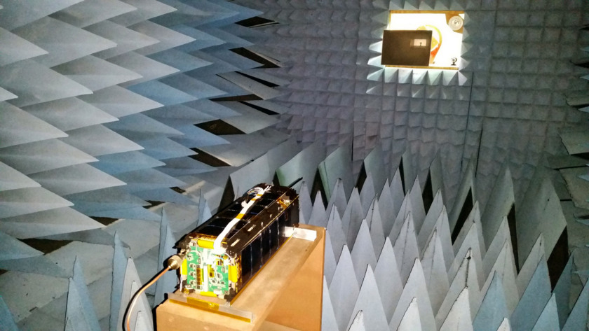 LightSail in the anechoic chamber