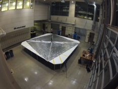 LightSail 1 during its day-in-the-life test
