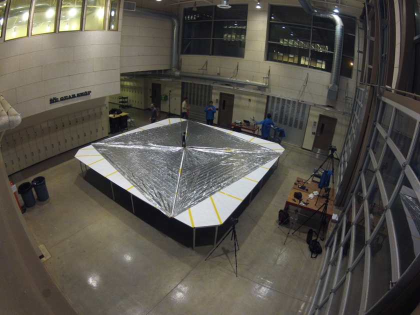 LightSail spreads its sails
